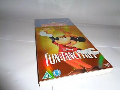 DISNEY FUN AND FANCY FREE With O-RING SLIPCASE Dvd UK RELEASE NEW FAC SEALED • 16.99£