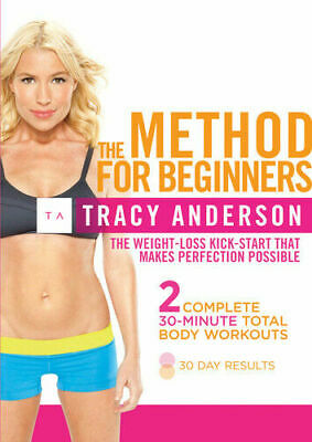 Tracy Anderson: The Method For Beginners DVD Tracy Anderson Keep Fit Exercise • 3.95£