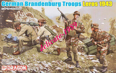 DRAGON 6743 1/35 German Brandenburg Troops, Leros 1943 (4 Figures Set) • 14.18£