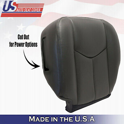$116.33 • Buy 2003 TO 2006 Chevy Silverado Driver Bottom Leather Seat Cover With Power Seat