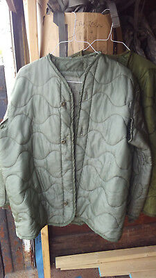 $16.95 • Buy Cold Weather US Military M65 Field Coat Liner  Large    FREE SHIP