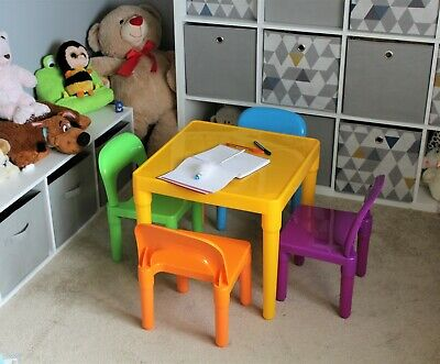 Table And Chair Set Large  Childrens  - Kids Toddlers Childs School Infant- Gift • 31.45£