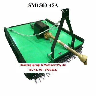 AU2385 • Buy SLASHER 5FT 3 Point Link Suit To Tractor 25-50HP 1.5m Cut Part No.: SM1500-45A
