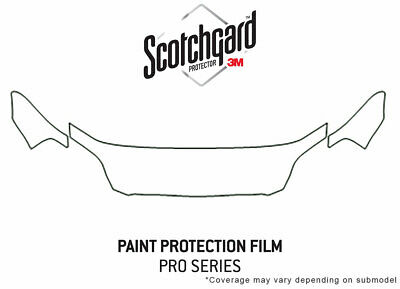 $149.99 • Buy 3M Pro Shield Paint Protection Kit For Honda Civic 1999-2000 - Hood Clear B