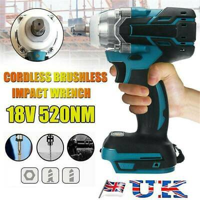 Torque Impact Wrench Brushless Cordless Replacement For Makita Battery DTW285Z • 42.99£