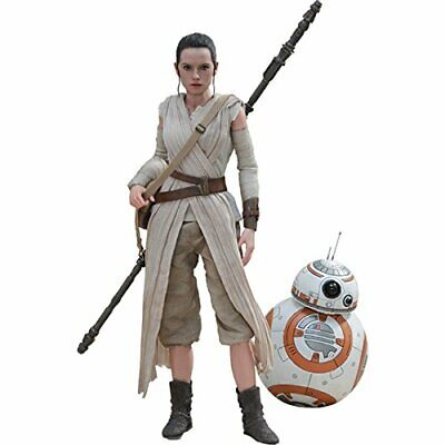$ CDN580.65 • Buy Hot Toys Movie Masterpiece Star Wars The Force Awakens Rey & BB-8 Action Figure