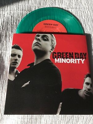 £14.33 • Buy Green Day -Minority- Green 7  Lp - 2000 Reprise Records-New Vinyl Never Played
