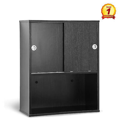 $122.40 • Buy Wall Mounted Barber Station Shampoo Storage Cabinet Beauty Salon  Spa Equipment