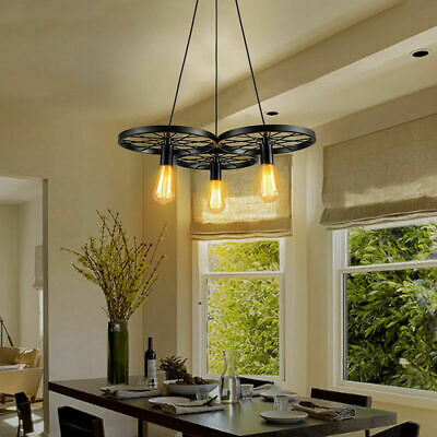 Modern Ceiling Pendant Cluster Light Fitting Lights Pendant Style Cage 3 Way • 43.99£