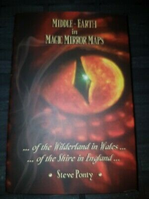 £14.99 • Buy SIGNED HB Steve Ponty - Middle-earth In Magic Mirror Maps JRR Tolkien The Hobbit