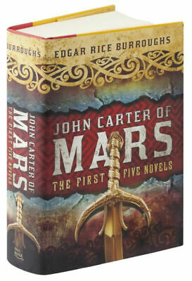 $15.95 • Buy John Carter A Princess Of Mars Series Omnibus Collection HARDCOVER  By Edgar ...