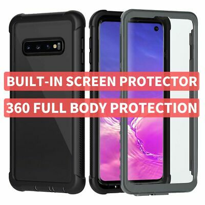 AU16.68 • Buy 360 Full Body Case Cover For Galaxy S10 S9 S8 Note 10 9 Plus + Screen Protector