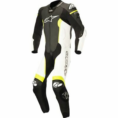 $999.95 • Buy Alpinestars Missile  1-PC Leather Motorcycle Suit - Blk/Wht/Flo Ylw, All Sizes
