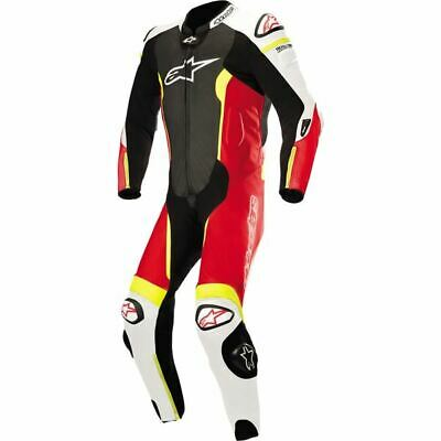 $1199.95 • Buy Alpinestars GP Plus V2 1-PC Vntd Lthr Motorcycle Suit-Blk/Wht/Red/Ylw, All Sizes