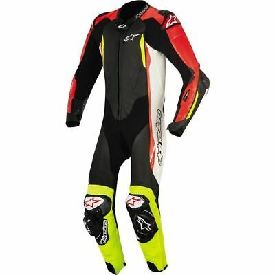 $1999.95 • Buy Alpinestars GP Tech V2 1-PC Vntd Lthr Motorcycle Suit-Blk/Wht/Red/Ylw, All Sizes