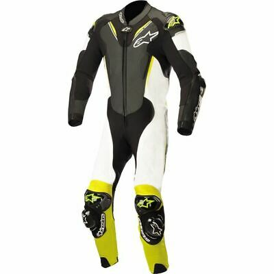 $1349.95 • Buy Alpinestars Atem V3 1-PC Vntd Leather Motorcycle Suit - Blk/Wht/Ylw, All Sizes