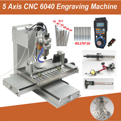 AU5399 • Buy 5 Axis CNC Engraving Machine 6040 Carving Drilling Milling Router Engraver 2200W