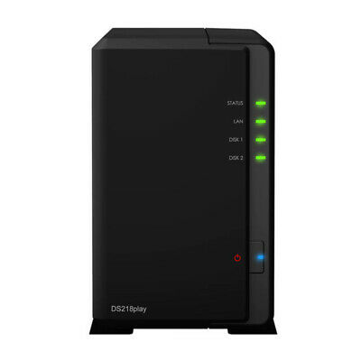 £195.78 • Buy Synology DS218PLAY NAS 2Bay DiskStation Diskless Retail