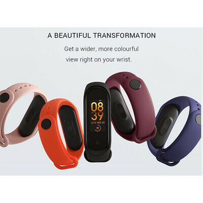 For Xiaomi Waterproof Mi Band 4 OLED Smart Wristband Watch Heart Rate Monitor50M • 11.03$