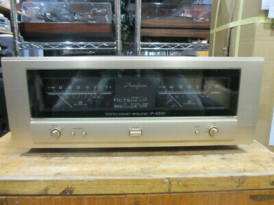 £3549.25 • Buy Accuphase P-4200 Power Amplifier Used 2013 JAPAN