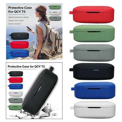 $ CDN5.40 • Buy For QCY T5 Wireless BT Headset Silicone Protective Case Cover Skin Box