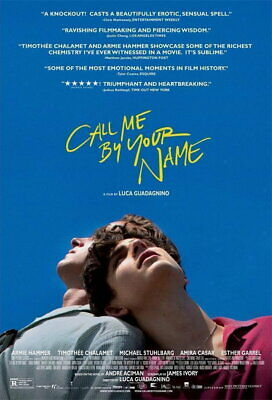 AU67.95 • Buy 62525 Call Me By Your Name Wall Print POSTER AU