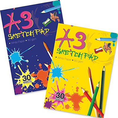 £4.39 • Buy Artbox A3 Sketch Pad - Assorted Sheet Of 30