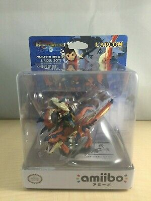 AU97.74 • Buy Amiibo One-Eyed Rathalos And Rider (Male)  Monster Hunter Stories - Japan Import