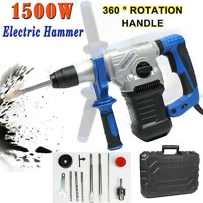 View Details Rotary Hammer Drill SDS Plus 240V 3 Mode Chisel Action Demolition Breaker 1500W • 61.01£