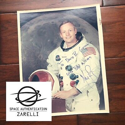 $2500 • Buy NEIL ARMSTRONG * Zarelli LOA * Autograph Red Number WSS Litho * Apollo 11 Signed