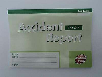 £2.40 • Buy PUKKA PAD 24 PAGE ACCIDENT REPORT BOOK Ref. MUACC
