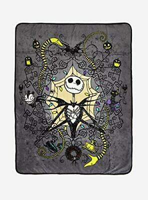 The Nightmare Before Christmas Jack Toys Throw Blanket • 25.56£