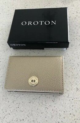AU50 • Buy Oroton Card Holder Coin Purse Pale Gold