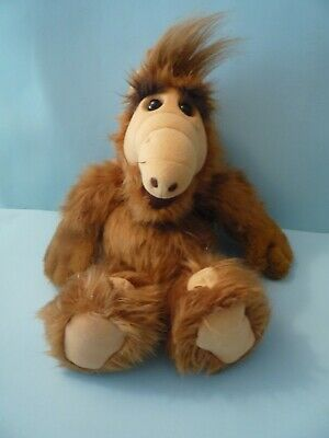 Vintage ALF 1986 Alien Productions 18  Plush Doll Stuffed Animal By Coleco • 43$