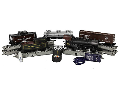 Lionel Pennsylvania Flyer Electric O Gauge Model Train Set Remote And Bluetooth • 240.99$