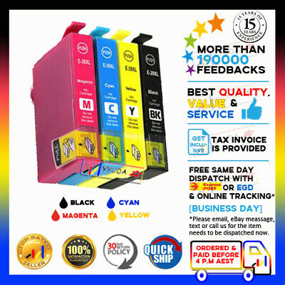 AU38.50 • Buy 4 X YYUDA 39 XL 39xl 39 T39xl E-39xl Ink Alternative For Epson XP2105 XP4105