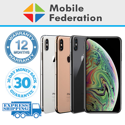 AU1029 • Buy Apple IPhone XS Max A2101 64GB 256GB 512GB Unlocked [AU Stock]