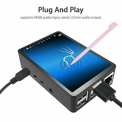 AU34.75 • Buy 3.5  Inch Touch Screen Monitor LCD Display 480x320 For Raspberry Pi 4+ Case+ Pen