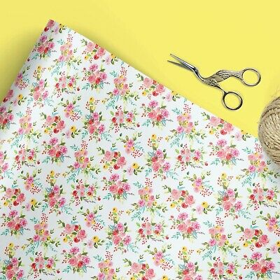 £3.55 • Buy Ditsy Floral Wrapping Paper | Gift Wrap | Wrapping Paper | Luxury Wrap