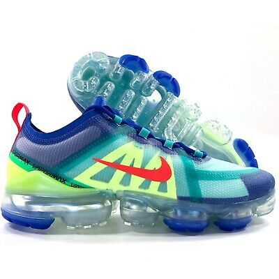 Nike Air Vapormax 2019 Racer Blue Bright Crimson Red AR6631-402 Men's 9-14 • 152.99$