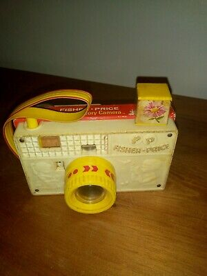 Rare Fisher Price - Vintage Picture Story Camera - Working With Strap • 19.99£