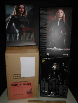 $284 • Buy Hot Toys - Black Widow Winter Soldier Captain America 1/6 Scale - 12  Marvel New