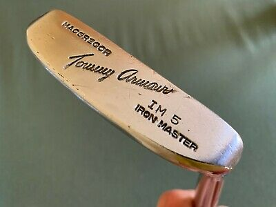 $ CDN45.64 • Buy Macgregor Tommy Armour  IM 5 IRON MASTER Putter. All Vintage  Double XX  35.5