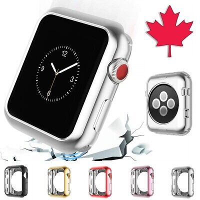 $ CDN4.95 • Buy Apple Watch Case - Electroplate Slim Thin Soft Cover For Series 1 2 3 4 5