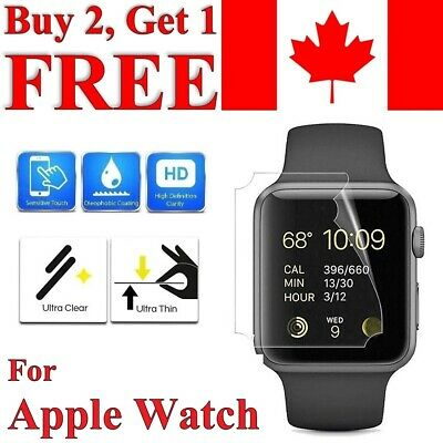 $ CDN2.49 • Buy Premium Screen Protector Cover For Apple Watch Series 1 2 3 4 5 6 SE