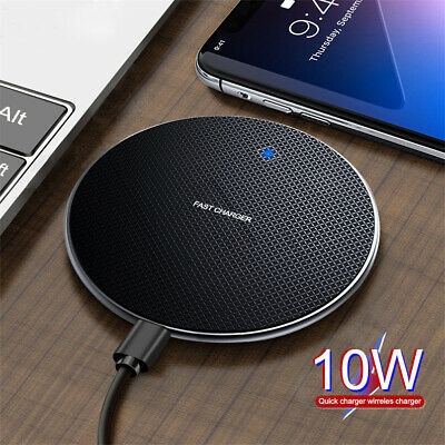 $ CDN6.64 • Buy For Samsung Galaxy Note 10 Plus 9 Fast Qi Wireless Charger Charging Dock Pad Mat