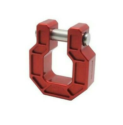 $49 • Buy Shackle/D Ring - Towing Shackle Bumper D Ring - Jeep Wrangler Hook - 3/4  Pin