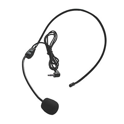 3.5mm Headset Headphone With Microphone For Computer PC Gaming Stereo Skype • 3.45£