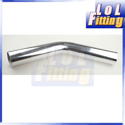 AU41.98 • Buy AU 4  Inch 102mm OD Aluminum 45 Degree Turbo Intercooler Pipe Piping Tube 610mm