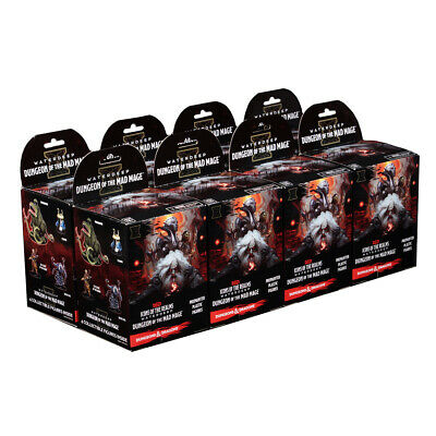 AU238.95 • Buy Dungeons & Dragons Dungeon Of The Mad Mage Prepainted Figures Booster Box